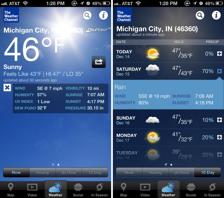 Blog appzok for Application iphone temperature interieur